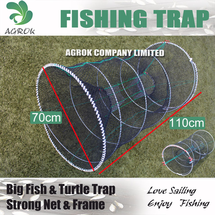 AGROK Big size turtle fish eel trap