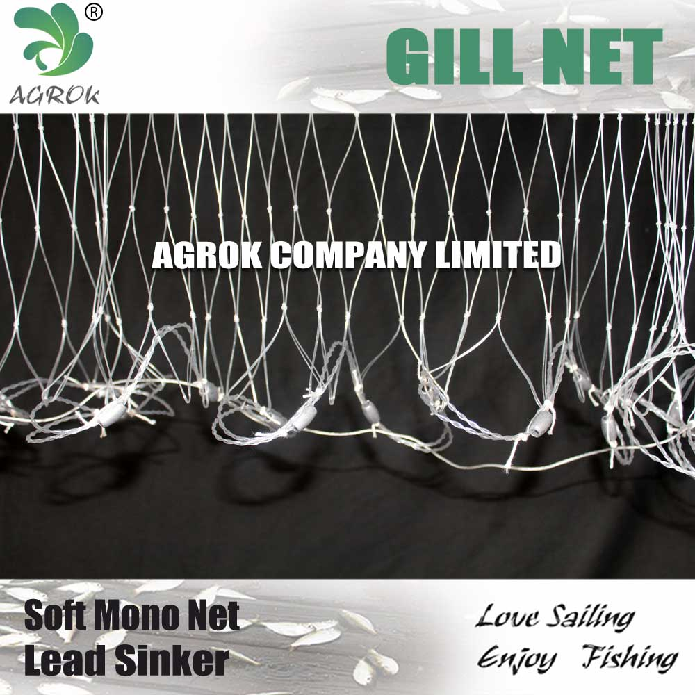 Oceania Thick Mono Gill Net With PVC Float